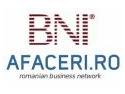 network. BNI - Business Network International in Iasi, in parteneriat cu Afaceri.ro