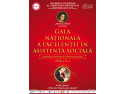 cursuri autorizate asistenta sociala. Gala Nationala a Excelentei in Asistenta Sociala