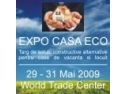World Trade Center Bucuresti va invita la Targul EXPO CASA ECO 29-31 Mai 2009