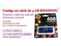 stick. Castiga un stick de 4 GB pe portalul www.ideicadouri.com