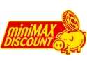 limita minima. miniMAX DISCOUNT intra pe piata cu primele trei magazine inainte de Paste