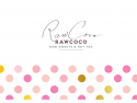 RawCoco - Raw Sweets & Hot Tea  instrumente de marketing