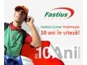 Fastius Curier împlineşte 10 ani de activitate pe piaţa de curierat business din Bucureşti