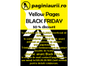 black. Yellow Pages Black Friday