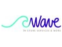 z wave. Printr-un rebranding curajos, agentia de in-store marketing Net Marketing devine Wave
