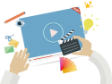 conferinta video. video-marketing