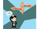 Marketing online vs marketing offline complex melodia