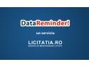 licitatia ro. Data Reminder by Licitatia.ro