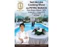 team cooking. Seara de Cocktail cu prezentare de moda alaturi de Catalin Botezatu si Show de LIve Cooking cu Petru Buiuca, la Hotel IAKI, din Mamaia