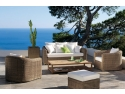 publicitate outdoor. Terasa lounge, colectia Orlando, brand Manutti