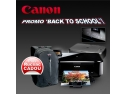 "multifunctionala. ""Back to School"" cu evoMAG si Canon!"