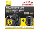 pret. Doar la evoMAG, Nikon D90 cu cel mai mic pret de pe piata!