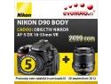 Micro Nikkor. Doar la evoMAG, Nikon D90 cu cel mai mic pret de pe piata!