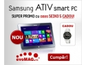securitate tableta. Fiecare tableta Samsung ATIV iti aduce cadou un super ceas!