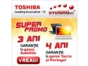 Toshiba. Doar la evoMAG ai garantie extinsa pentru laptopurile Toshiba