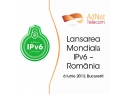 """AdNet Telecom –  sustinator si sponsor al evenimentului """"Lansarea Mondială IPv6 – România"""""""