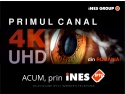 iNES GROUP lanseză primul canal TV 4K/Ultra HD din România! no time for downtime