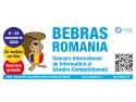 BEBRAS - Cel mai mare eveniment online de programare creativa. Toti profesorii si elevii din Romania sunt invitati sa participe calor