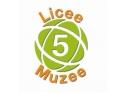 """5 Licee 5 Muzee. Invitatie """"5 licee – 5 muzee"""". O noua grupa de 250 de elevi a fost la muzee"""
