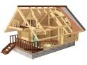 proiecte case de lemn. Ecowood Industry: Case de lemn rezistente si estetice