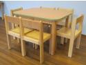 Scaune de gradinita de la Wood Joy: mici, cochete si rezistente