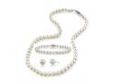 ziua indragostitilor 2014. Set Bijuterii cu perle- cadoul perfect pentru Ziua Indragostitilor!