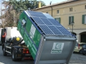 serviciul de colectare . Solutia inovativa in colectarea deseurilor utilizand panouri fotovoltaice