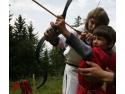 festivalul medieval sibiu 2011. Tabara medievala pentru copii