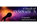 ja innovation day. Afis A touch of Innovation