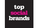 various brands. Vodafone ocupa locul 1 in Top Social Brands 2011