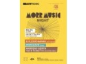 evenimentele live. MORR MUSIC Night la FRONT cu B.Fleischmann (live band), Populous (live) si Andreas Gerth (Tied & Tickeld Trio - live & DJ Set)