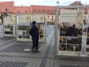 Expozitia in Piata Mare, Sibiu
