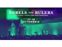 cannes. Conferinta REBELS AND RULERS
