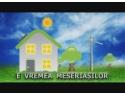 """Casa solară PRISPA și centrul de pregatire montatori ISOVER în emisiunea """"E VREMEA MESERIAȘILOR"""""""