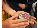 timbre cu cercetași. Cercetașii răspândesc veselie și bucurie în Munții Piatra Craiului