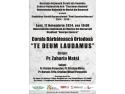 """athos concert coral. Corala Bărbătească Ortodoxă """"Te Deum Laudamus"""" concertează în stagiunea """"Paul Constantinescu"""" 2014-2015"""