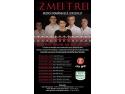 Din această seară, Zmeitrei revin la București cu o serie de 10 concerte