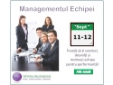 Succes maxim pentru Managementul Echipei susţinut de Sfera Business