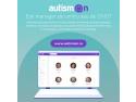 Asociația Help Autism lansează, prin platforma AutismON, primul centru online din țară care acoperă toate nevoile copilului cu autism abuzive
