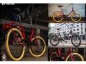 pastel urban. Bicicleta pliabila, solutia ideala in jungla urbana