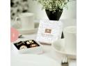 Cadouri dulci din ciocolata belgiana  de la Chocolissimo pentru evenimente speciale casute gradina