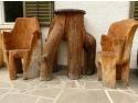lemn in amenajarea spatiului exterior