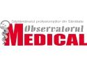 Incepând din luna septembrie, Observatorul Medical poate fi găsit la adresa de web: www.observatorulmedical.ro
