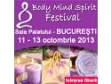 Body and Mind. Camelia Patrascanu te invita la Body Mind Spirit Festival