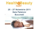 INVITATIE HEALTH & BEAUTY EXPO 25-27 NOIEMBRIE SALA PALATULUI BUCURESTI