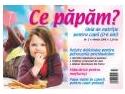 """nutritie pediatrica. Revista """"Ce papam?""""-are acum si site de nutritie pentru copii"""