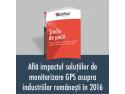 """MAI Dezvoltarea unui sistem de monitorizare a indicatorilor de performanţă în sectorul serviciilor comunitare de utilităţi publice"""". Studiu de Piață SafeFleet: Ce impact au avut în 2016 sistemele de monitorizare asupra industriilor românești?"""