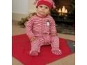 Colectie speciala de hainute organice de Craciun pentru copii