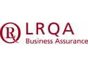 auditor in. LRQA logo