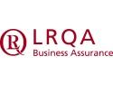 certificare IAAF Athletics. LRQA logo